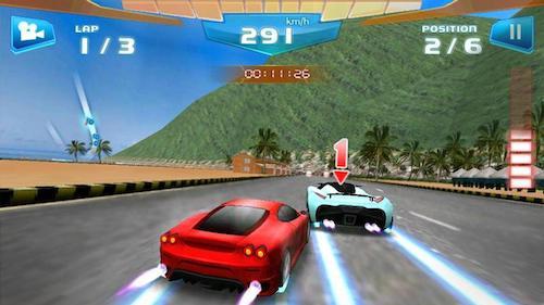 game đua xe siêu xe Fast Racing