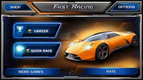 Fast Racing 3D mod vô hạn tiền