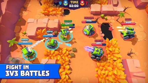 Tải game bắn xe tăng Tanks A Lot