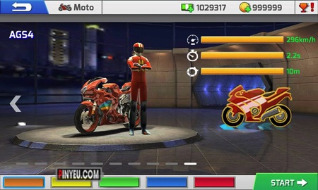 game Real Bike Racing cho dien thoai