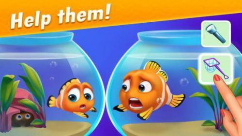 Fishdom giải đố