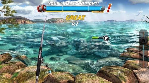 Fishing Clash mod tự động cân bằng