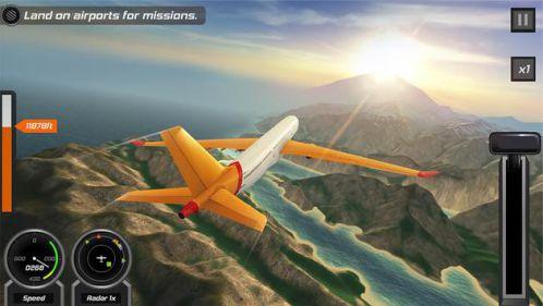Game mô phỏng lái máy bay Flight Pilot