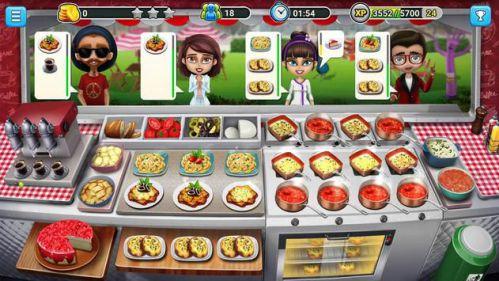Food Truck Chef 680 cấp độ