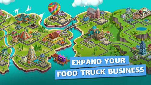 Food Truck Chef 800 món ăn