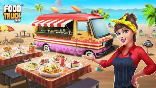 Food Truck Chef bán đồ ăn