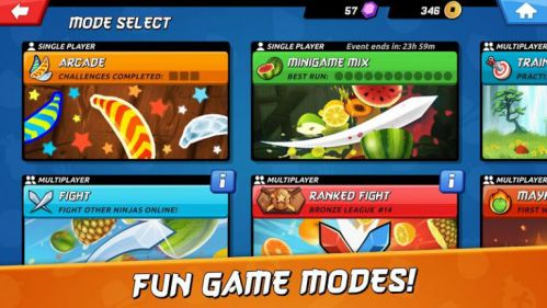 Fruit Ninja 2 mod unlimited coins