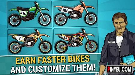 Mad Skills Motocross 2 cho dien thoai