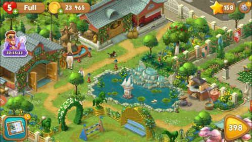 Tải gardenscapes mod vô hạn tiền