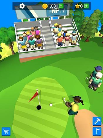 Game quản lý câu lạc bộ Golf