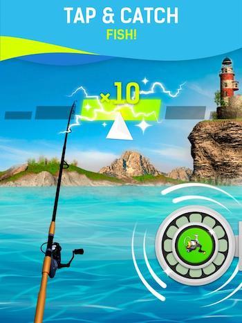 Grand Fishing Game mod vô hạn ngọc