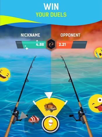 Grand Fishing Game mod vô hạn tiền