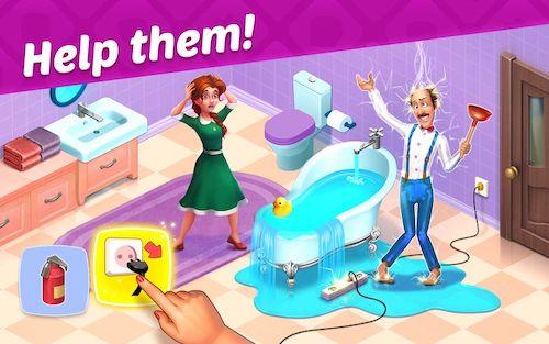 Tải game Homescapes mod sao