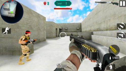 Gun Shoot War Dead Ops tiêu diệt khủng bố