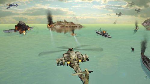 Gunship Strike 3D chiến đấu trên không
