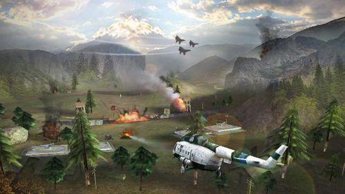 Gunship Strike 3D tiêu diệt kẻ địch