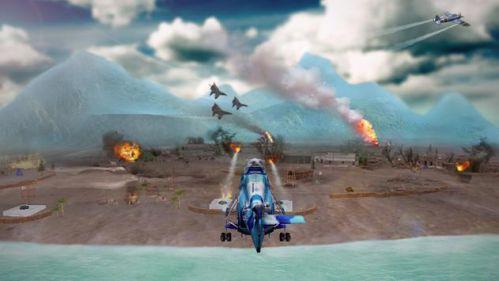 Gunship Strike 3D trực thăng