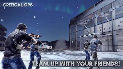 Tải game Critical Ops mod vô hạn đạn