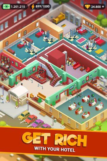 Game quản lý khách sạn Hotel Empire Tycoon