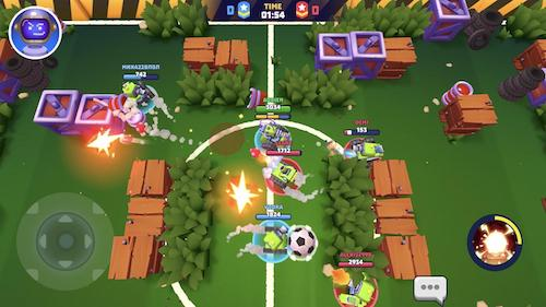 Game android hay 3v3 Tanks A Lot