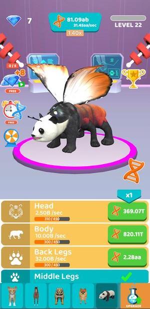 game thí nghiệm động vật