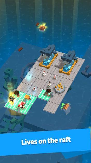 Game sinh tồn trên biển, trên bè