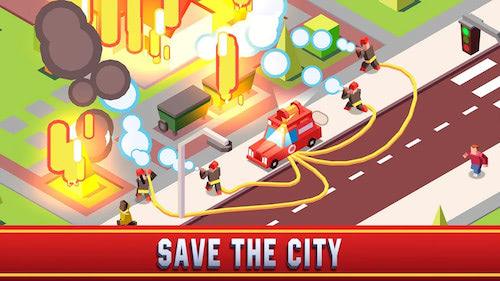 chơi game cứu hỏa mô phỏng
