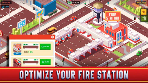 hack money Idle Firefighter Empire Tycoon