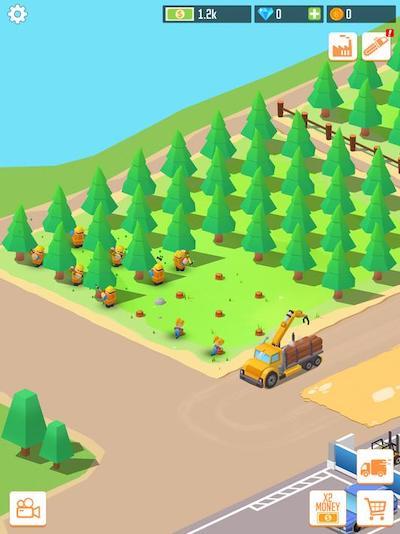 Idle Forest Lumber Inc mod hack money