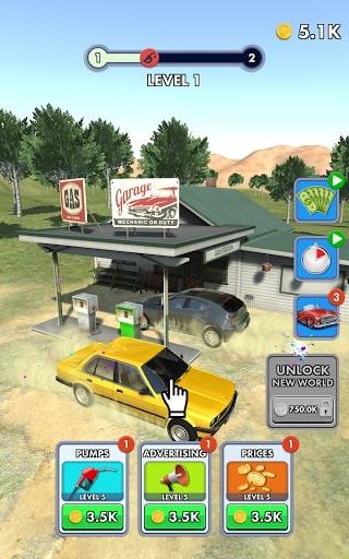 game quản lý trạm xăng