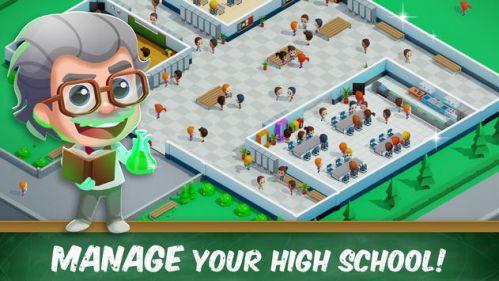 Idle High School Tycoon game giải trí