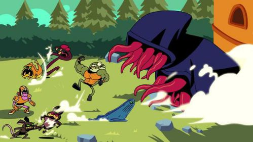 Idle Monster Frontier thu thập quái vật