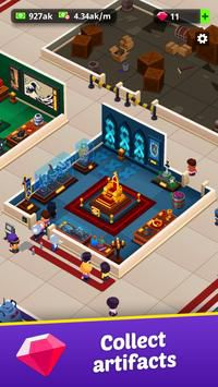 Idle Museum Tycoon bảo tàng
