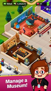 Idle Museum Tycoon game kinh doanh