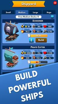 Idle Pirate Tycoon xây dựng đảo