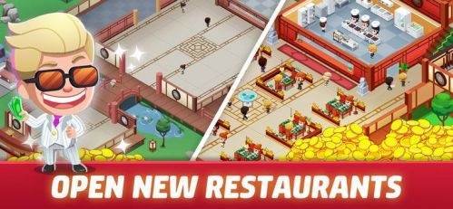 Idle Restaurant Tycoon mod money