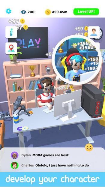 tải game idle streamer mod