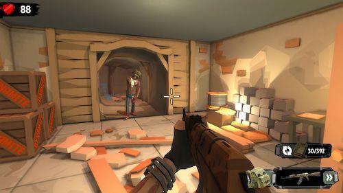 The Walking Zombie 2 mod vô hạn đạn, tiền