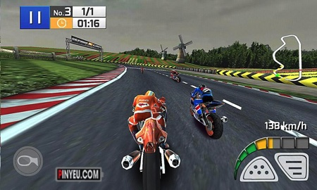 Real Bike Racing game dua xe
