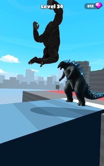 Kaiju Run mod nhận thưởng