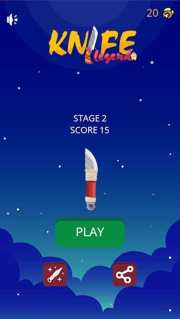 Game hay cho điện thoại Knife Legend