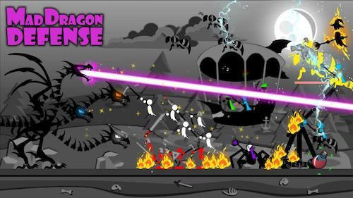 Mad Dragon Defense hack nhiều tiền và kim cương