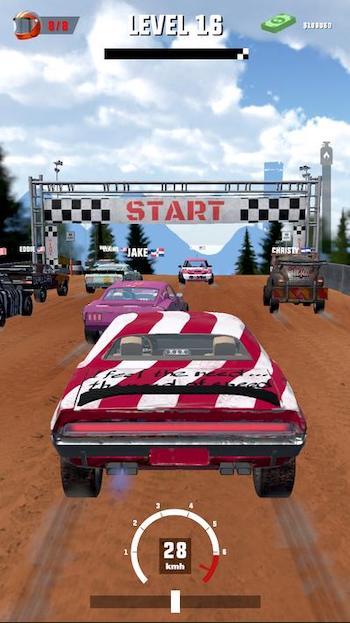 Mad Racing 3D mod nhân thưởng