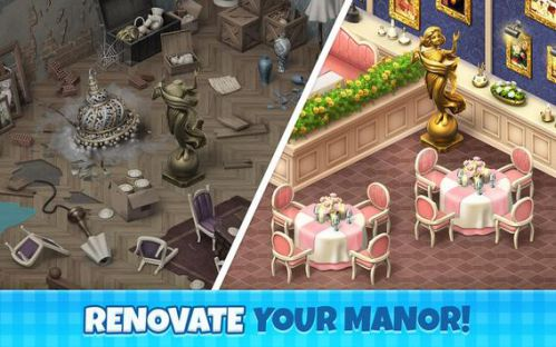 Manor Cafe mod vô hạn tiền