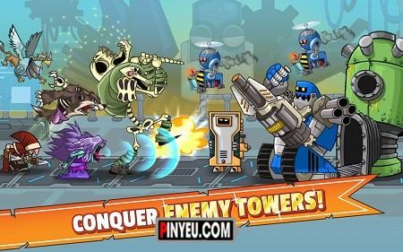 Tower Conquest cho dien thoai