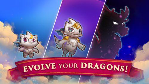 Merge Dragons mod mua hàng miễn phí