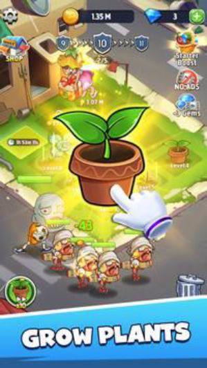 Merge Plants game kinh điển