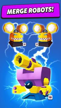 Merge Tower Bots ghép robot