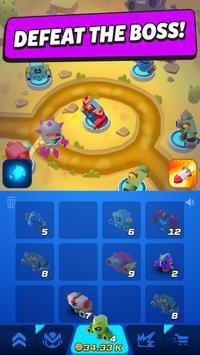Merge Tower Bots mod miễn phí