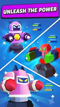 Merge Tower Bots phòng thủ